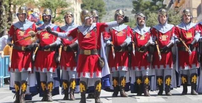 Fiestas de moros y cristianos en Ibi