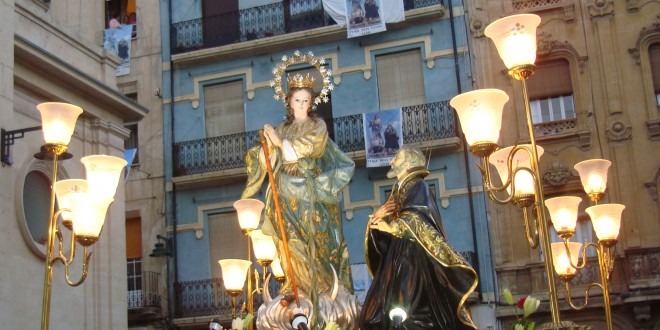 Triduo en honor a la Virgen de los Lirios