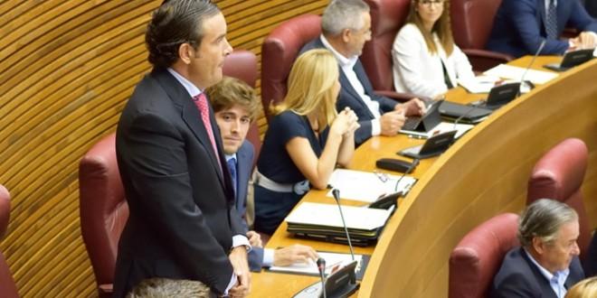 Resultado de imagen de portavoz de Turismo del grupo popular en las Cortes, Fernando Pastor