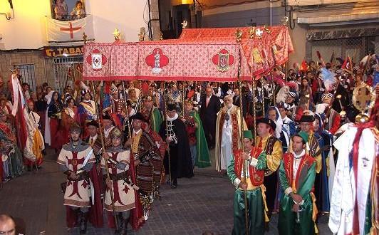 Banyeres celebra la fiesta de la Reliquia de Sant Jordi