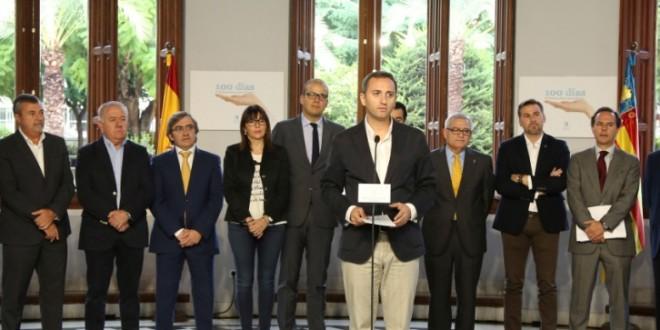 La Diputación hace balance de los primeros cien días de gobierno