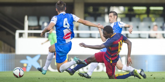 El Alcoyano cae ante el Barça B
