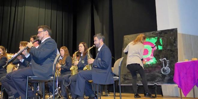Música y pintura se fusionan en el concierto de Fira del Ateneu Musical