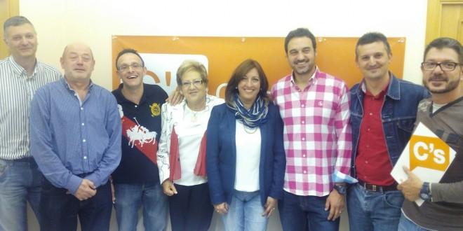 Rosa García nueva coordinadora local de Ciudadanos