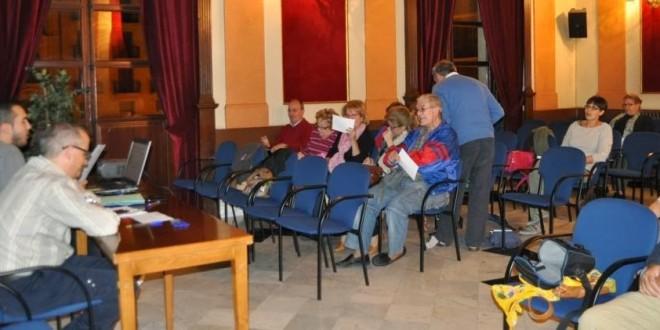 Suspendida la primera reunión de los Presupuestos Participativos