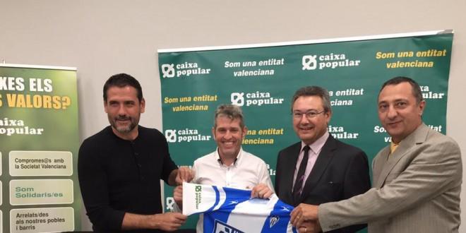 El Alcoyano y Caixa Popular firman un convenio