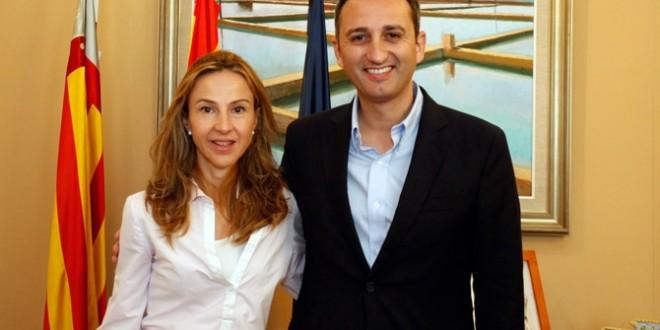 César Sánchez recibe a los alcaldes de Fageca y Benifallim