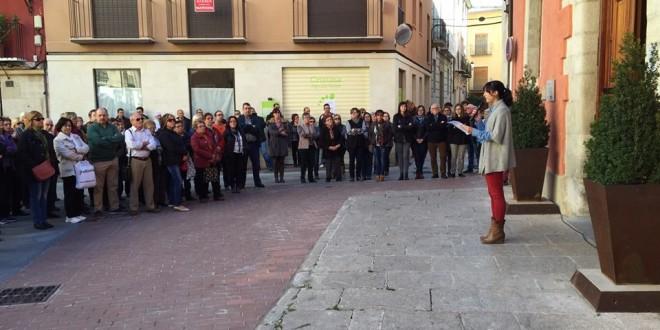 La comarca muestra su solidaridad con París
