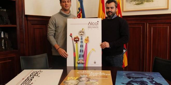 Óscar Climent gana el concurso del cartel de la Cabalgata de Alcoy