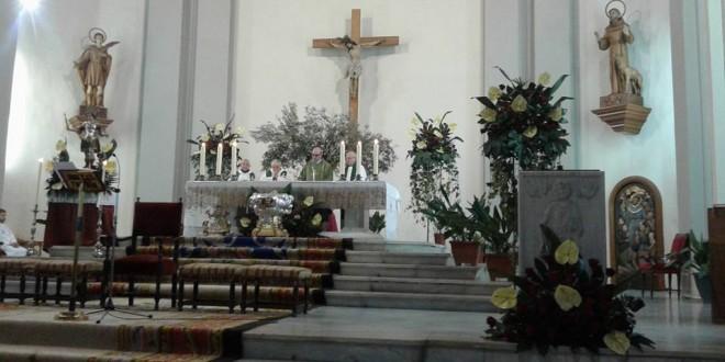 Misa en honor a San Mauro