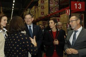Puig se compromete a agilizar la subestación eléctrica de la Foia