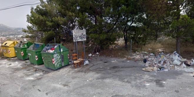 Ciudadanos pregunta por la retirada de los contenedores del Rebolcat