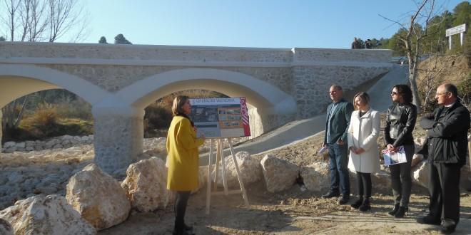 Abre al tráfico el puente entre Cocentaina y Gorga
