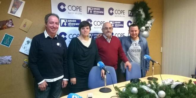 Cope Alcoy entrega a Cáritas la campaña de recogida de alimentos