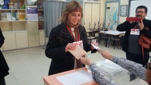 Eli Aleix ha votado en el San Juan Bosco II de Cocentaina