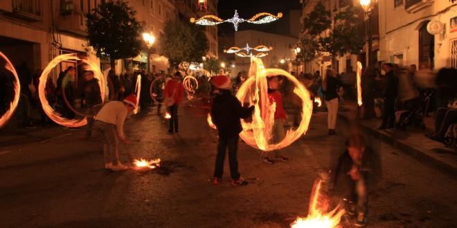 Onil revive la tradición dels Fatxos por Nochebuena