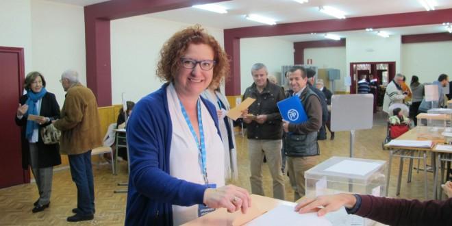 Así han votado los candidatos de la comarca