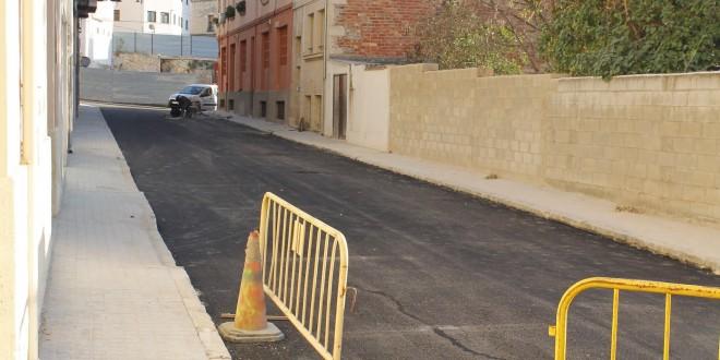 Finalizan las obras de reforma de varias calles del Viaducto