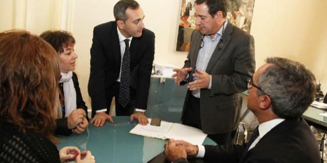 El Partido Popular de Cocentaina visita la Diputación