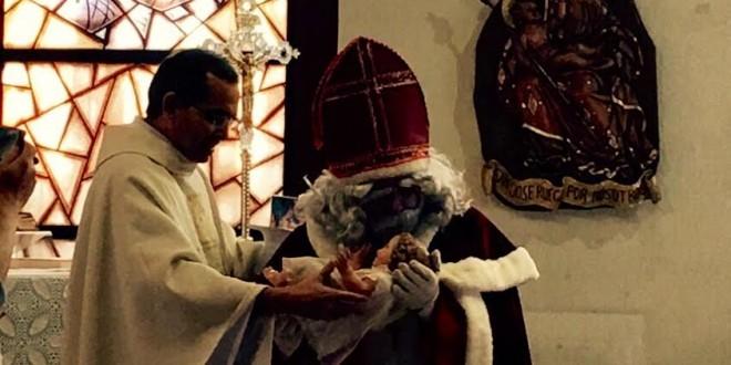 Alcoy recibe la visita de San Nicolás