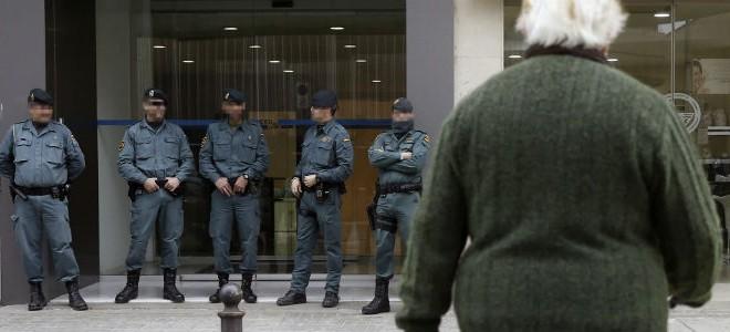 Registro en Muro en la operación anticorrupción contra el PP