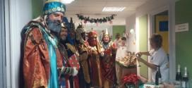 Visita solidaria de los Reyes Magos