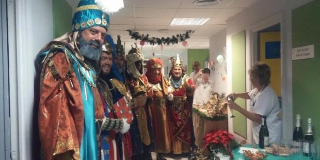 Los Reyes Magos se despiden de Alcoy