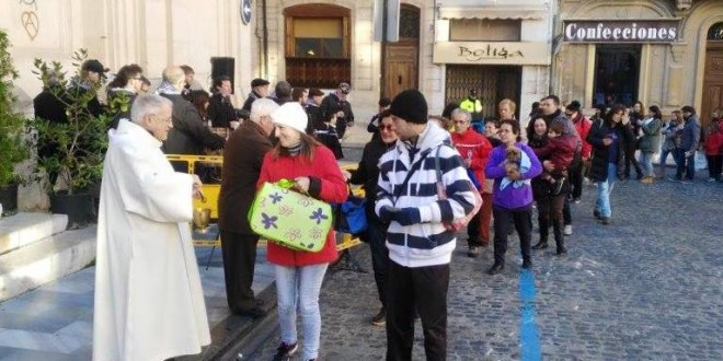 La bendición de animales abre los actos de Sant Antoni