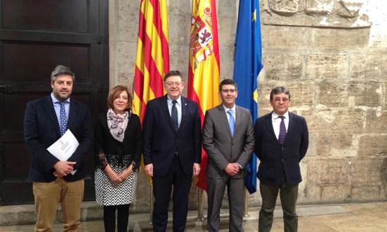 La Plataforma por la reindustrialización traslada sus propuestas a Puig