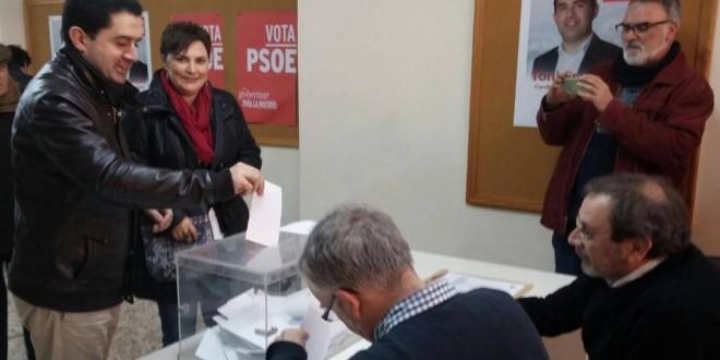 Apoyo de los socialistas alcoyanos al pacto con Ciudadanos