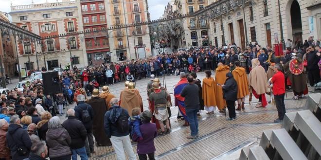 La marcha romana discurre por El Camí del Peix