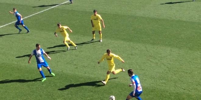 El Alcoyano empata 1-1 ante el Villareal B