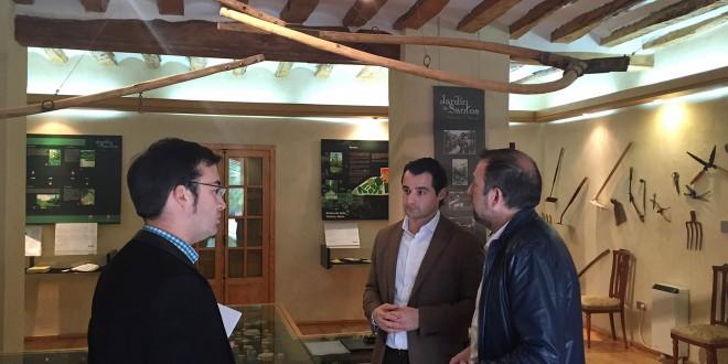 El Vicepresidente de la Diputación visita Penáguila