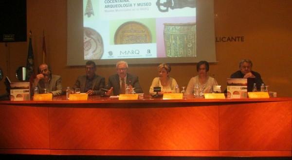 Presentado en el MARQ el catálogo sobre la exposición dedicada a Cocentaina