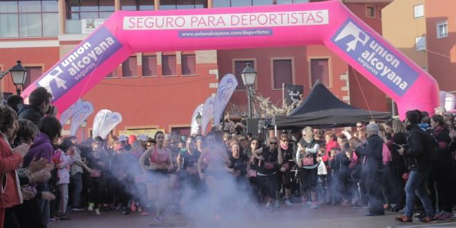 La cursa de la dona se apodera de las calles de Muro