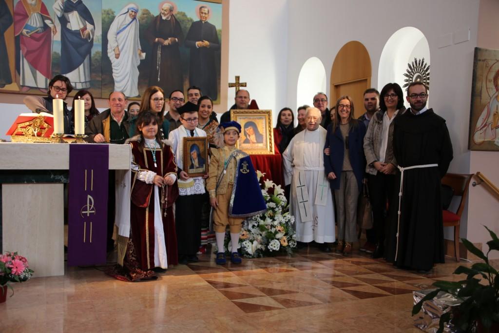 Los protagonistas de las  fiestas del 2016 se trasladaron a Valencia (Foto Pía Unión)