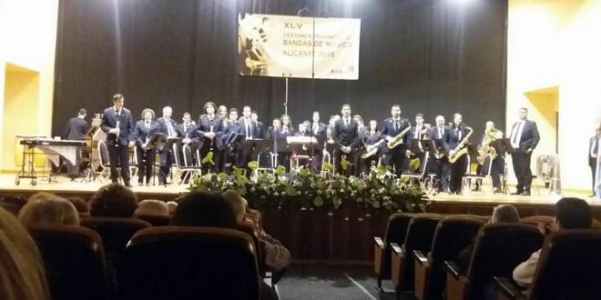 El Deliri de Gorga consigue el Primer Premio en el Provincial de Bandas de Música