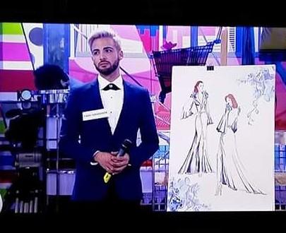 El Contestano Saúl Santonja elegido para vestir a Paz Padilla en Sálvame