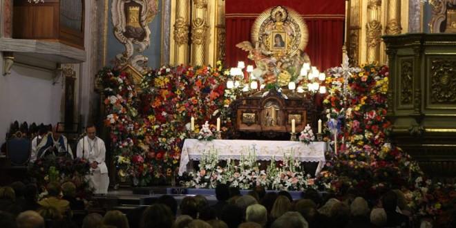 La emotiva eucaristía de enfermos marca el segundo día de las fiestas de la Mareta
