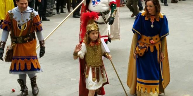 Nueve niños optan al cargo de Sant Jordiet
