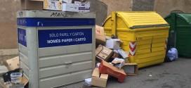 El PP lamenta el estado de suciedad de las calles de Alcoy después de fiestas