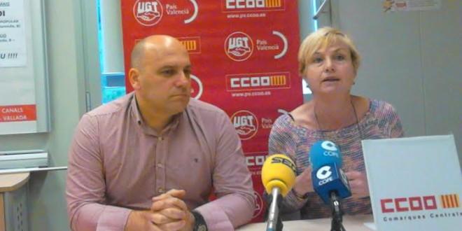 Ismael Senent reelegido secretario comarcal de UGT