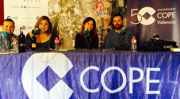 Cope Alcoy difunde la Festa en toda la Comunidad Valenciana