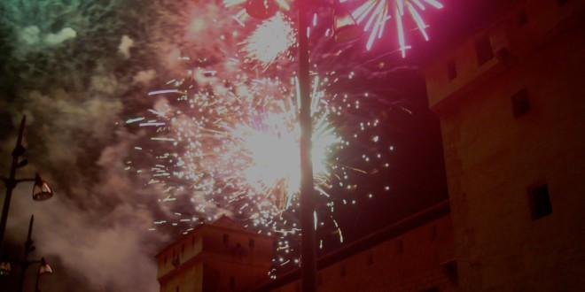 La normativa obliga a suprimir el castillo de fuegos artificiales de la Mare de Déu