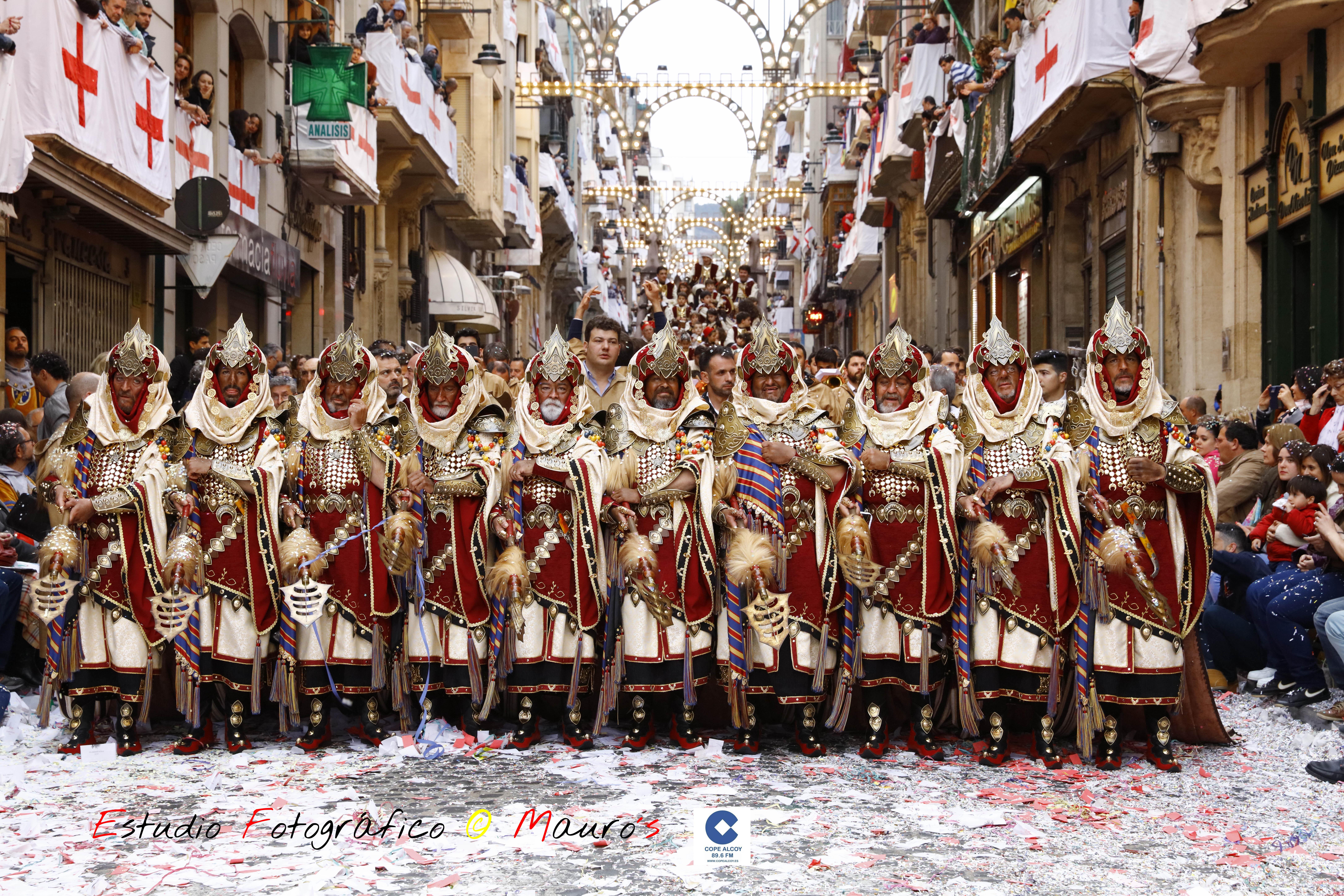 La Escuadra del Mig de los Marrakesch ha marcado el ecuador de la entrada / Foto: Estudio Fotográfico Mauro´s