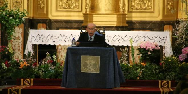 José Luís Pascual pregona las fiestas de la Mare de Déu del Miracle