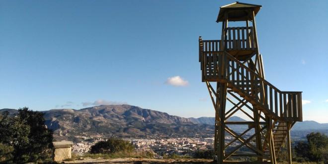 Instalada una torre de vigilancia en San Antoni para reaccionar contra los incendios