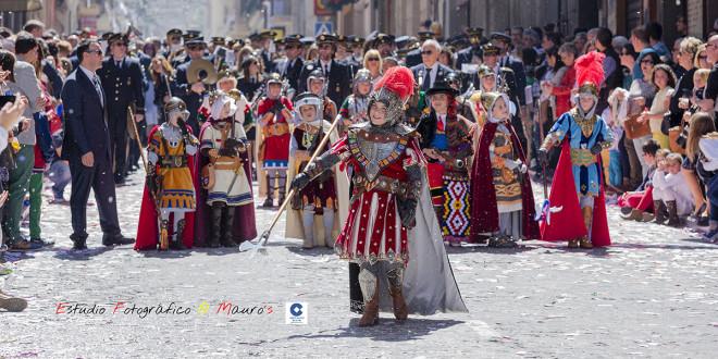 La Gloria Infantil recorre las calles de Alcoy