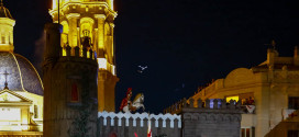 Sant Jordiet escenifica la reconquista de Alcoy