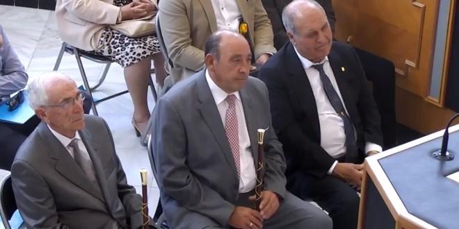 Reconocimiento a dos alcaldes veteranos de la comarca